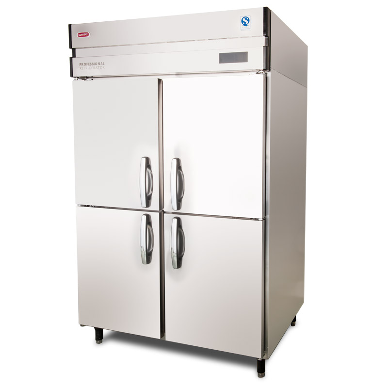 4 doors reach in commercial professional refrigerator and for 1 door chiller