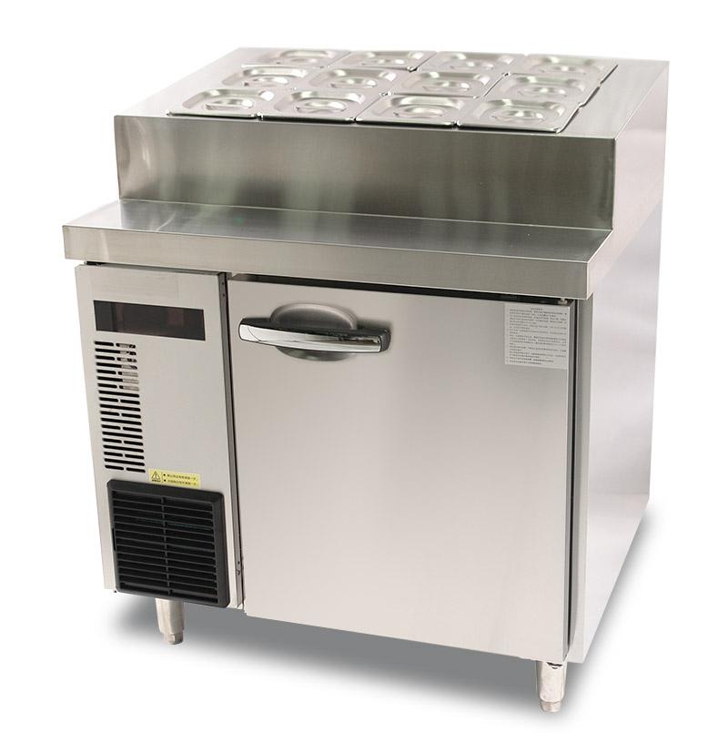 Hamburger Preparation Refrigerator